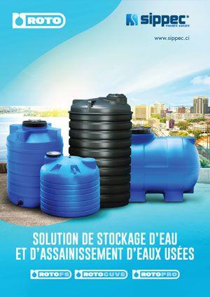 Sippec Solutions Stockage d'Eau